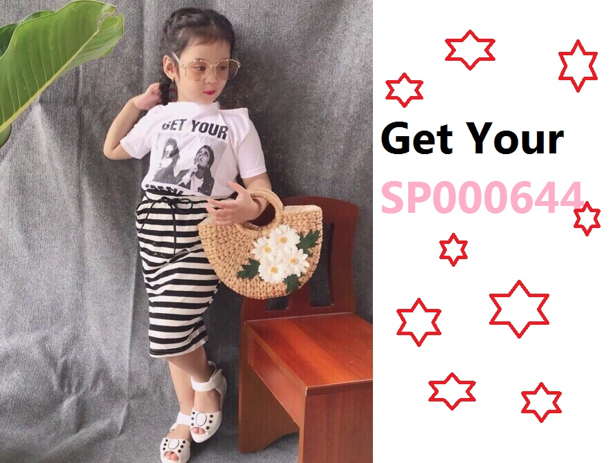 Set váy sọc Get Your